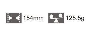 2603002 - Alicate Curva Acentuada Mod Vanin  -Contém 1 Peça