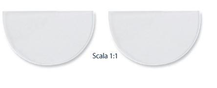 0214483 - CorreçãoVisual 02 Lente Adesiva Bifocal +1,75 Mod 14483 FLAG E  -Contém 1 Par