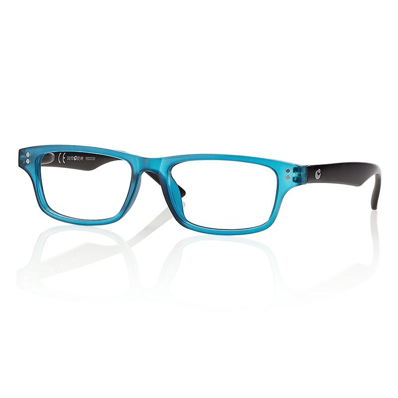 0260744 - Óculos Leitura OPOR New Azul/Preto +2,00 Mod 60744  -Contém 1 Peça