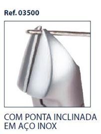 0203500 - Alicate 02 Corte Lateral Pontas Inclinadas Mod 3500  -Contém 1 Peça