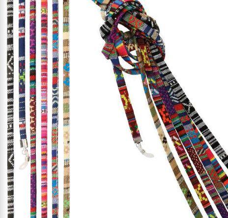 0209543 - Cordão Etnico Multicolorido Mod 9543 FLAG E - Contém 18 Peças SOB ENCOMENDA