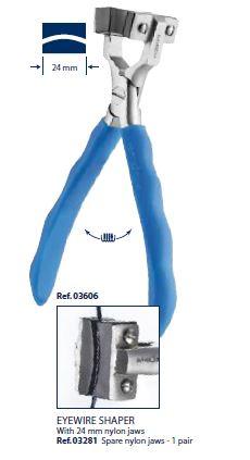 0203606 - Alicate Curva Acentuada Metal Mini Mod 3606 FLAG 9  -Contém 1 Peça