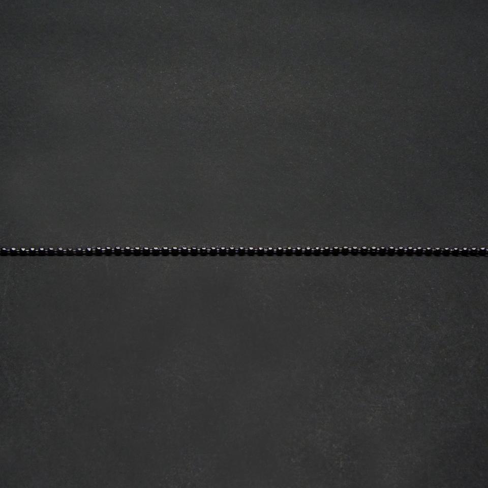 1607096 - Corrente Bolinha Mini Grafite - Contém 3 Peças