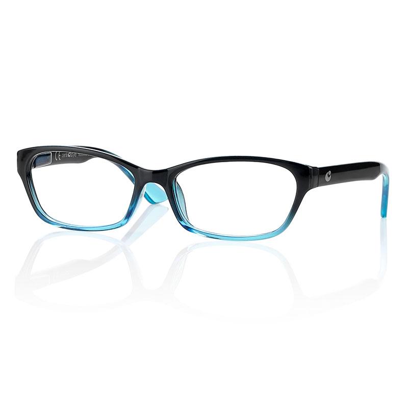 0260886 - Óculos Leitura OPOR Preto/AzulCl Degrade +2,50 Mod 60886 FLAG 9  -Contém 1 Peça