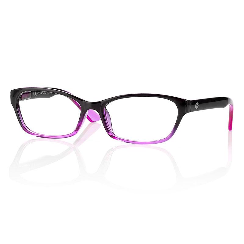 0260898 - Óculos Leitura OPOR Preto/Rosa Degrade +3,00 Mod 60898 FLAG 9  -Contém 1 Peça