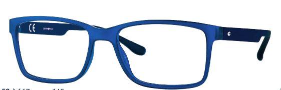 0256202 - Armação Ultem Multifocal 53x17 Azul Fosco Mod 56202 FLAG 9  -Contém 1 Peça