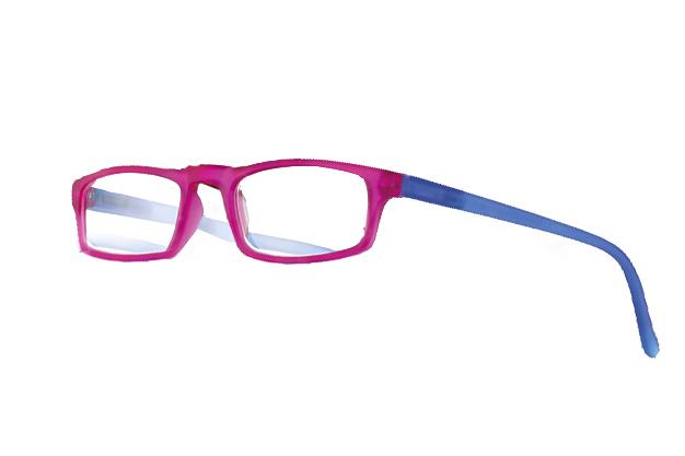0261048 - Óculos Leitura Soft Touch Rosa/Azul +3,00 Mod 61048  -Contém 1 Peça