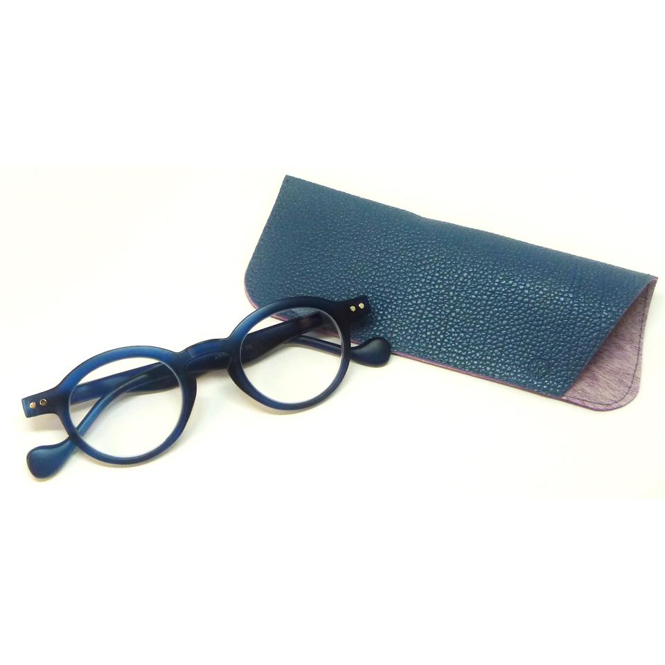 0860053-Óculos Leitura Redondo Azul +2,00 - Contém 1 Peça  - ENTREGA IMEDIATA