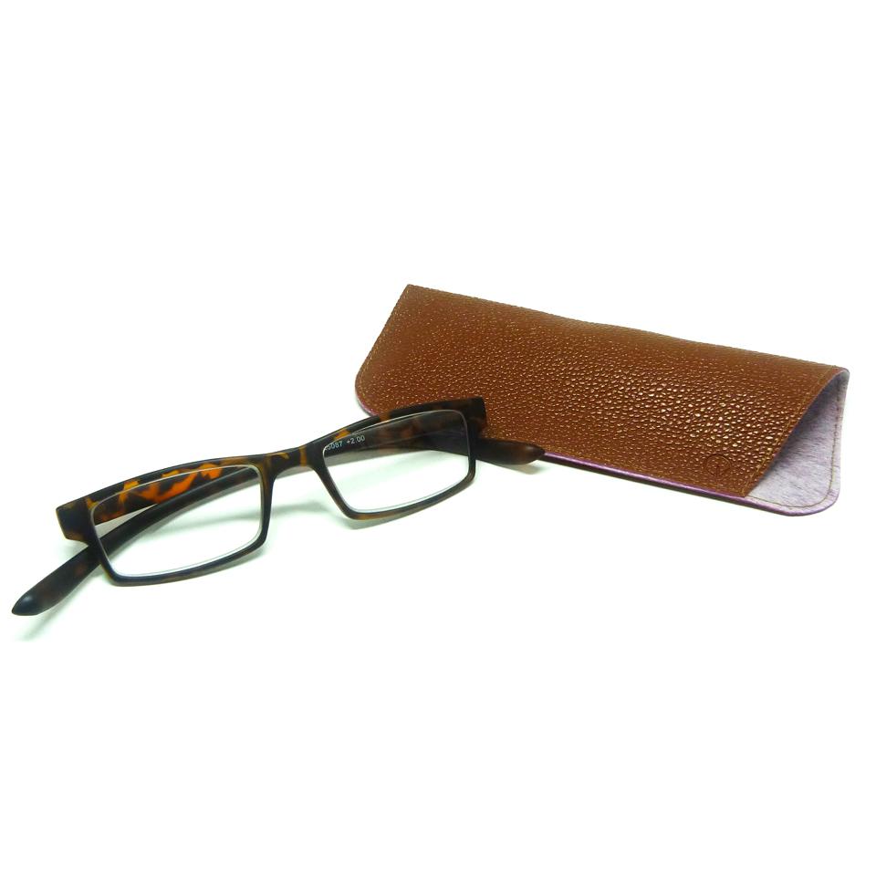 0869022 - Óculos Leitura Retangular Demi +1,50 Mod AR5087C - Contém 1 Peça