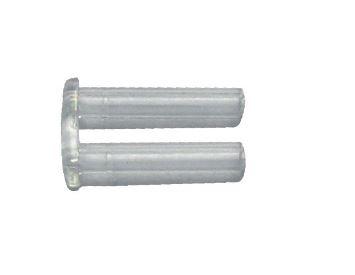 0107061 - Prego 01 Duplo Plástico M0,8x2,5x2,2mm FLAG E  -Contém 100 Peças