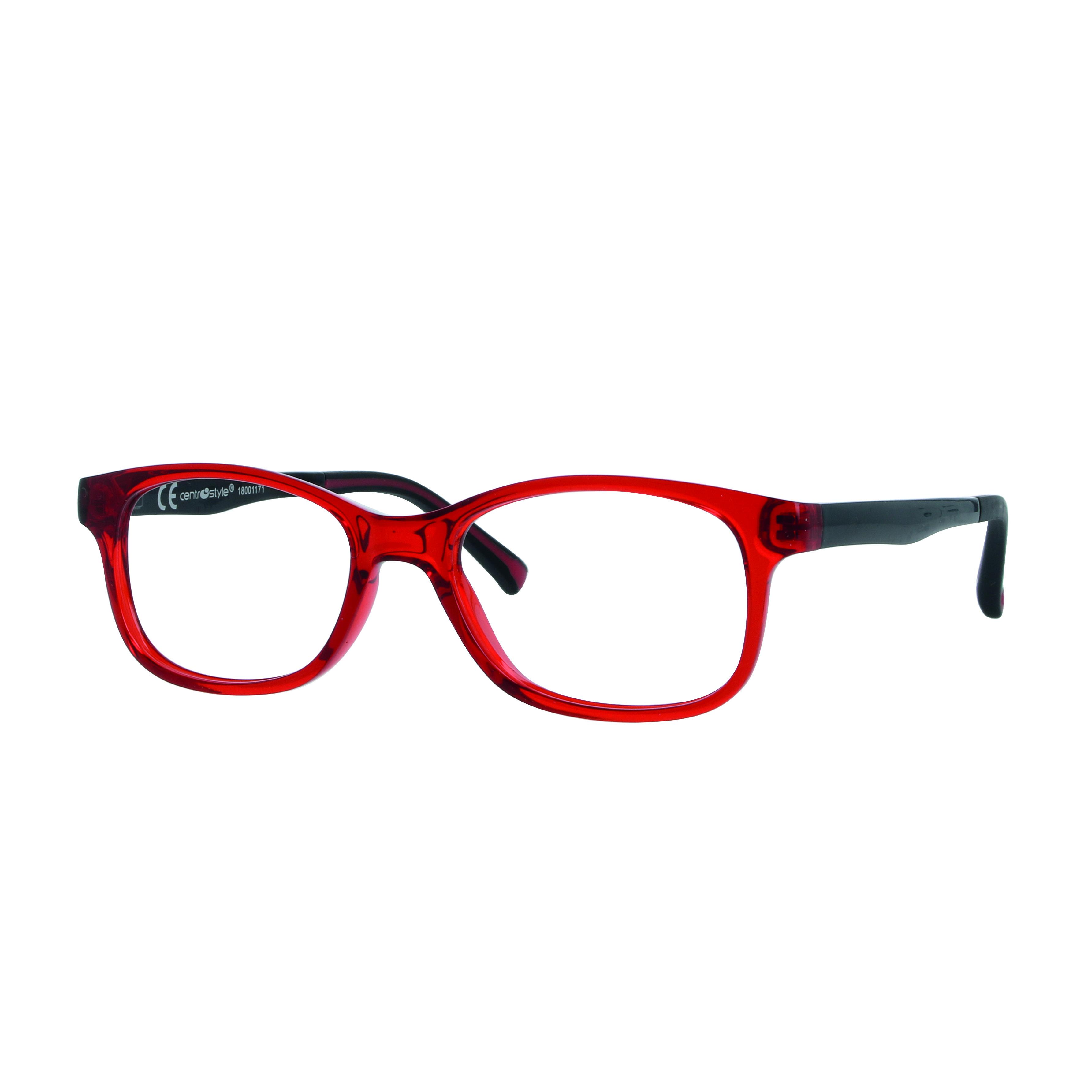 02F012946054000 - Armação Active Colours (5) 46x16 Vermelho/Preto Mod F012946054000 - Contém 1 Peça