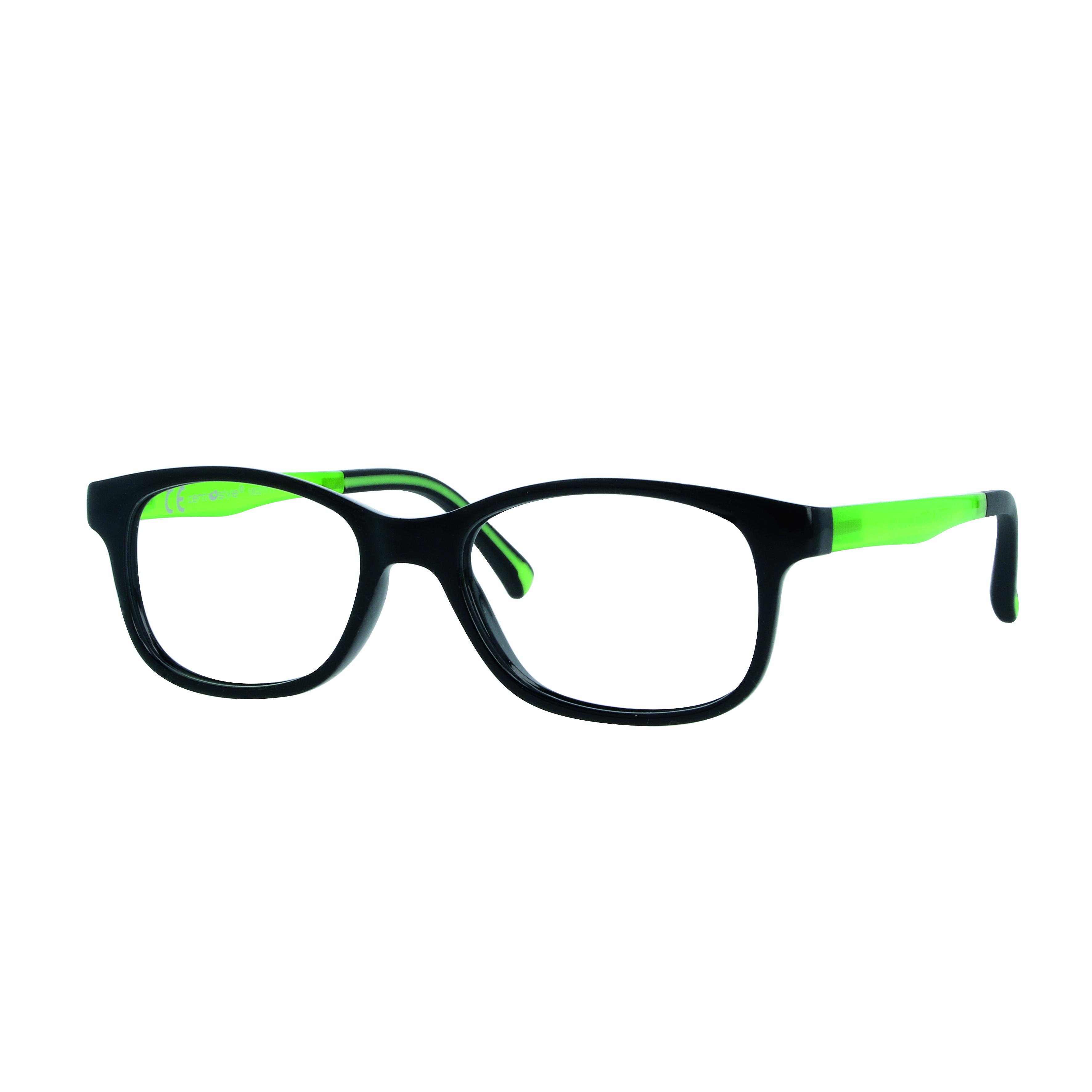 02F012946228000 - Armação Active Colours (5) 46x16 Preto/Verde Mod F012946228000 - Contém 1 Peça