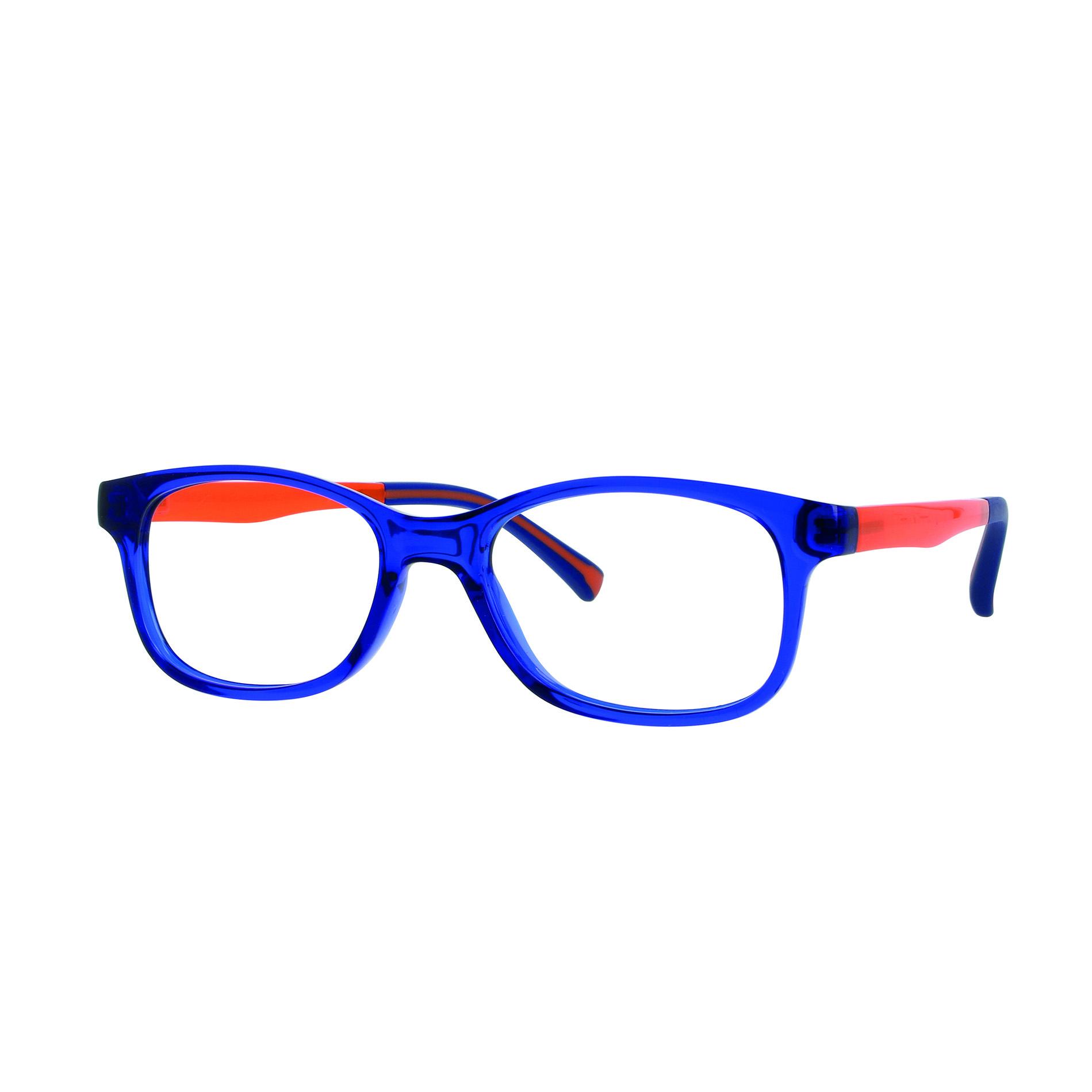 02F012946229000 - Armação Inf Active Colours (5) 46x16 Azul/Laranja Mod F012946229000 - Contém 1 Peça