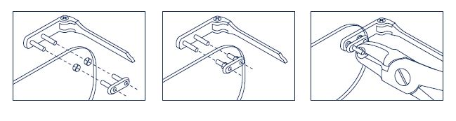 0200449K - Prego 02 Duplo Plástico D=1,5mmx7,4mm Mod 449K  -Contém 300 Peças