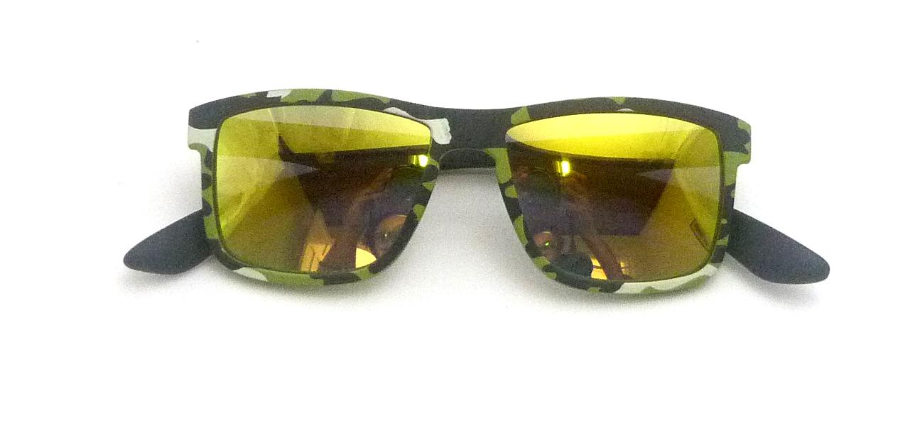 0215109 - Óculos-Solar CS Koala Camuflado 50x17 Verde Mod 15109 FLAG 9 - Contém 1 Peça
