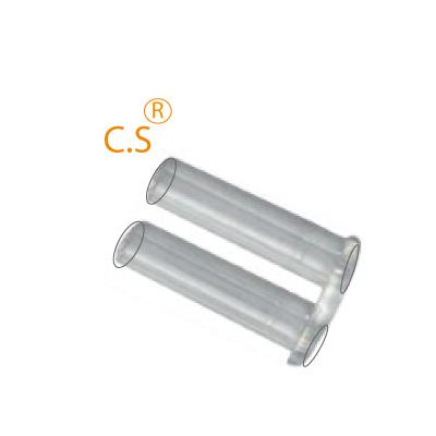 0200460 - Prego Duplo Plástico D=1,4mmx7,4mm Rigido FuroPassante Mod 460 - Contém 50 Peças