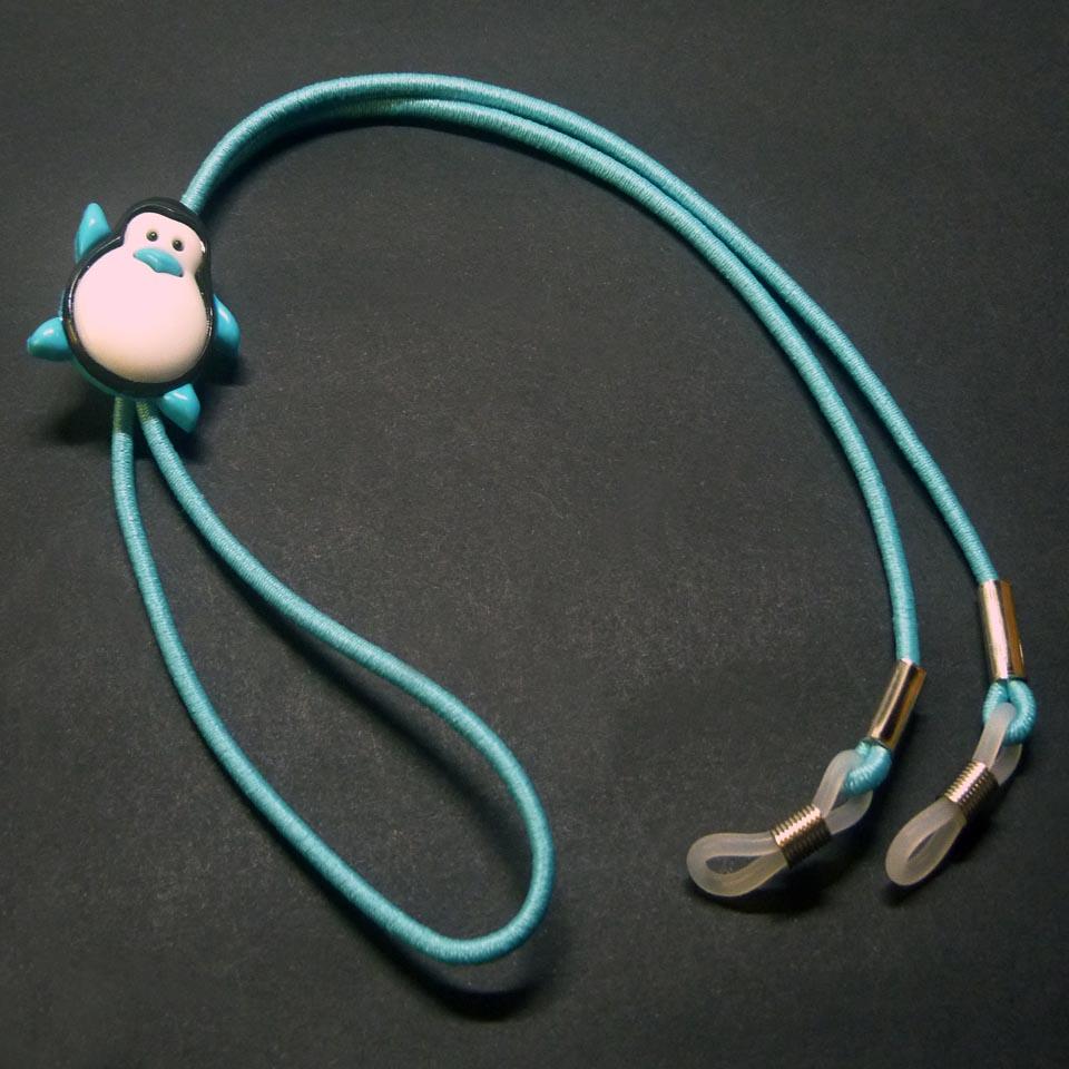 0102029 - Cordão Elastico Infantil Azul - Contém 3 Peças