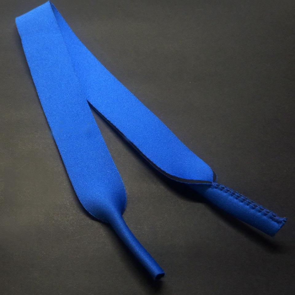 0102090 - Cordão Neoprene Azul c/6 unid - Contém 6 Peças