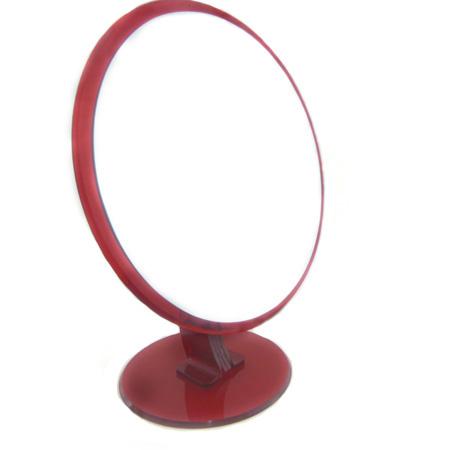 0109006.3-Espelho Acrilico Rddo S/Lente Vermelho Mod E6RB FLAG 9 - Contém 1 Peça  - ENTREGA IMEDIATA   PRODUTO EM PROMOÇÃO