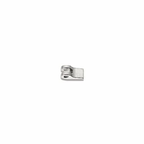 0200075 - Charneira 02 Soldar 3,0mm Frontal Esquerdo Mod 75 FLAG 9  -Contém 20 Peças