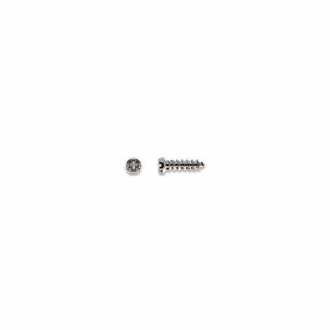 0200206 - Parafuso Aço M1,4x2,0mmx5,7mm Níquel Mod 206 FLAG E - Contém 100 Peças SOB ENCOMENDA