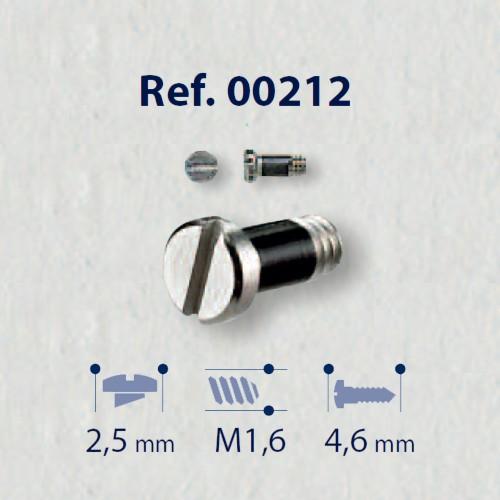 0200212 - Parafuso RB AutoBlock [RC1,6/CB2,5/CP4,6] Níquel Mod 212  -Contém 50 Peças