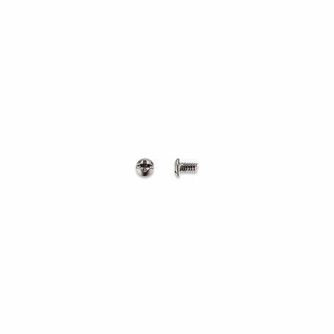 0200222 - Parafuso Aço [RC1,2/CB2,2/CP2,8] Níquel Mod 222 FLAG 9  -Contém 100 Peças