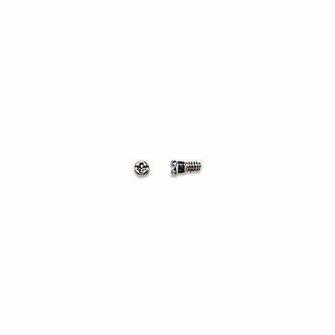 0200228 - Parafuso Aço [RC1,2/CB1,8/CP3,2] Níquel Mod 228 FLAG E - Contém 100 Peças SOB ENCOMENDA