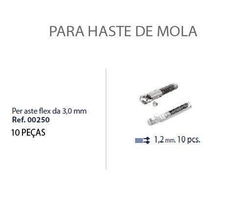 0200250 - Charneira 02 Peça-Flex Mecanismo Mola Mod 250  -Contém 10 Peças