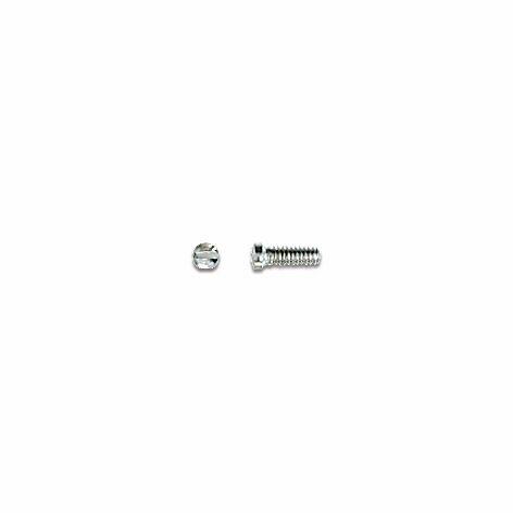 0200371 - Parafuso 02 Aço [RC1,4/CB1,8/CP4,7] Níquel Mod 371  -Contém 100 Peças