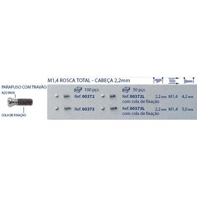 0200373L - Parafuso Autoblock Aço [RC1,4/CB2,2/CP5,0] Níquel Mod 373L FLAG E - Contém 50 Peças SOB ENCOMENDA