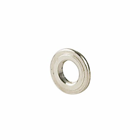 0200443 - Anilha 02 Metal 2,5x1,25x0,30mm Níquel Mod 443  -Contém 100 Peças