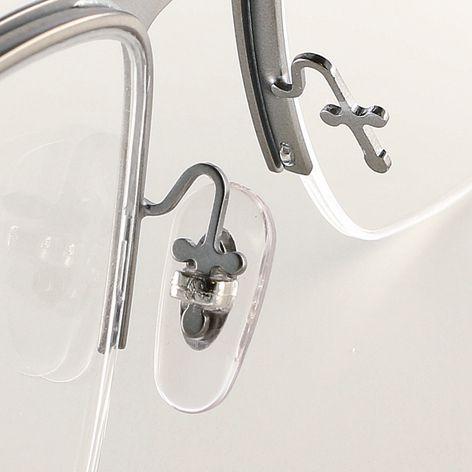 0200599 - Plaqueta PVC/Encaixe New RB Cristal/Prata 15,5mm Mod 599 - Contém 20 Peças