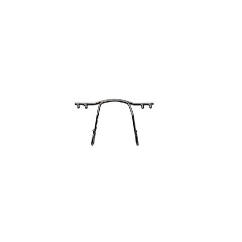 0200784 - Ponte Aço p/Armações de Pino Plastico 30mm Grafite Mod 784 FLAG E - Contém 1 Peça SOB ENCOMENDA