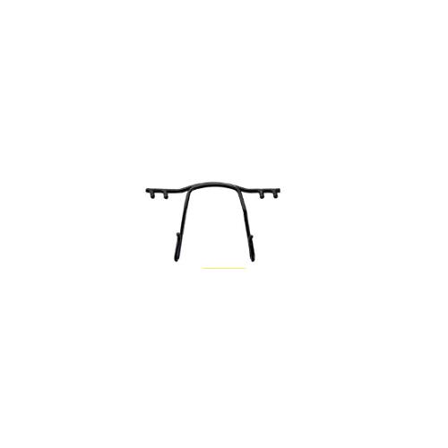 0200785 - Ponte Aço p/Armações de Pino Plastico 30mm Preto Mod 785 - Contém 1 Peça