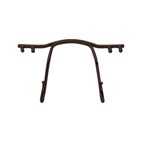 0200787 - Ponte Aço p/Armações de Pino Plasticos 30mm Bronze Mod 787 FLAG E - Contém 2 Peças SOB ENCOMENDA