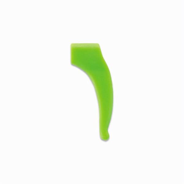 0201384-Stopper Silicone Médio Verde Mod 1384 FLAG E - Contém 6 Peças  - SOB ENCOMENDA