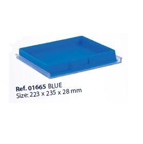 0201665-Organizador LabSystem Bandeja Caixa Azul Mod 1665 FLAG E - Contém 1 Peça  - SOB ENCOMENDA