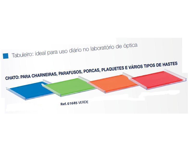 0201685-Organizador LabSystem Bandeja Pad Verde Mod 1685 FLAG E - Contém 1 Peça  - SOB ENCOMENDA