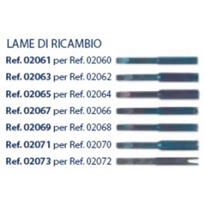 0202069 - Reposição_Chave 02 Porca 6 Pontas 2,6mm Mod 2069  -Contém 1 Peça