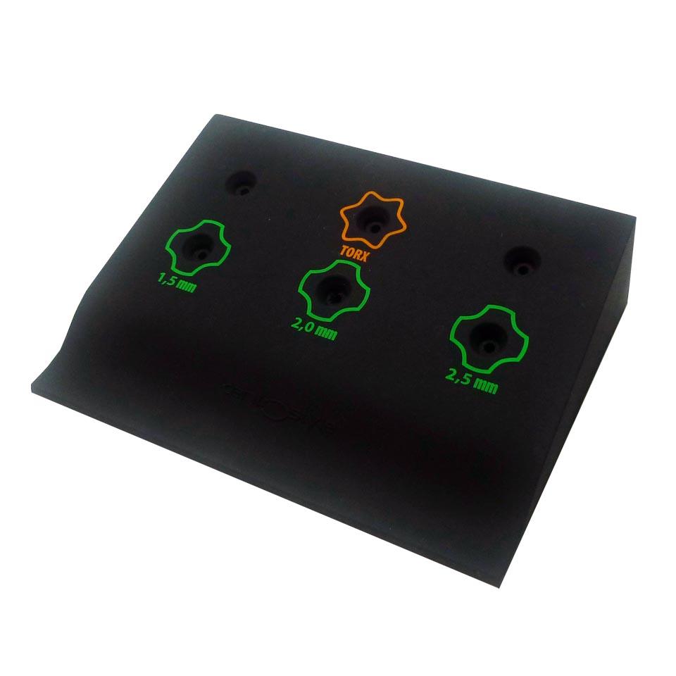 0202225 - Display Chave Phillips/Torx Silicone Mod 2225 FLAG E - Contém 1 Peça SOB ENCOMENDA