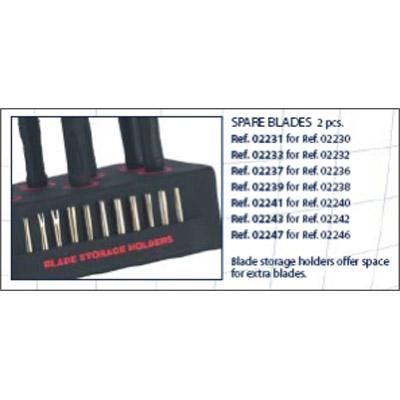 0202241 - Reposição_Chave 02 Porca 6 Pontas 2,6mm Mod 2241  -Contém 2 Peças