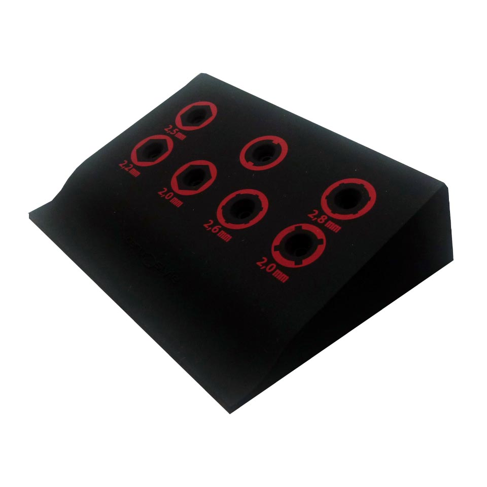 0202251 - Display Chave Porca Silicone Mod 2251 FLAG 9 - Contém 1 Peça
