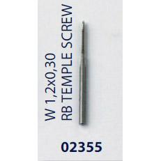 0202355-Macho Roscar M1,2x0,30 Haste Mod 2355 FLAG E - Contém 1 Peça  - SOB ENCOMENDA