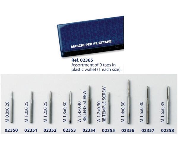0202365 - Macho 02 Kit Roscar 9 Modelos Mod 2365  -Contém 9 Peças