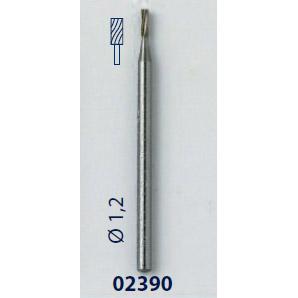 0202390-Fresa 1,2mm Mod 2390 FLAG E - Contém 3 Peças  - SOB ENCOMENDA