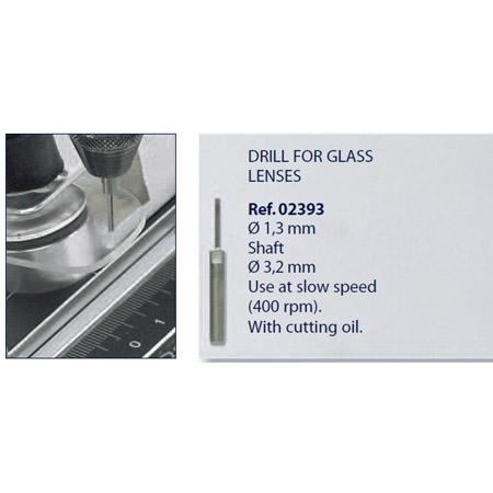 0202393 - Broca Metal Duro p/Vidro 1,3mm Mod 2393 FLAG 9  -Contém 1 Peça