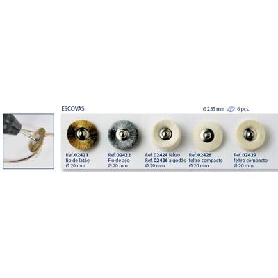 0202429-Disco Feltro Compacto Mod 2429 FLAG E - Contém 6 Peças  - ENTREGA IMEDIATA