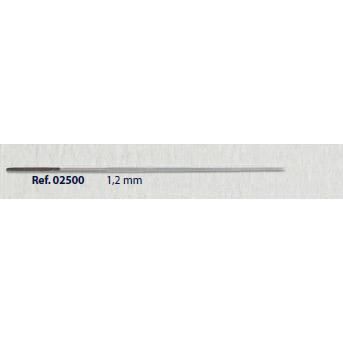 0202500 - Furador 02 1,2mm Mod 2500 FLAG E  -Contém 2 Peças