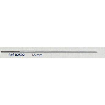0202502 - Furador 02 1,6mm Mod 2502 FLAG E  -Contém 2 Peças